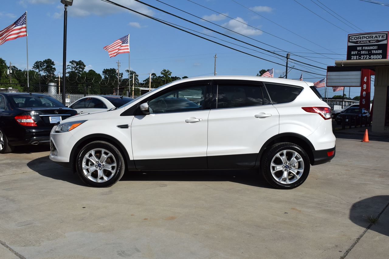 2013 ford escape awd sel 4dr suv in houston tx corporate cars inc. Black Bedroom Furniture Sets. Home Design Ideas