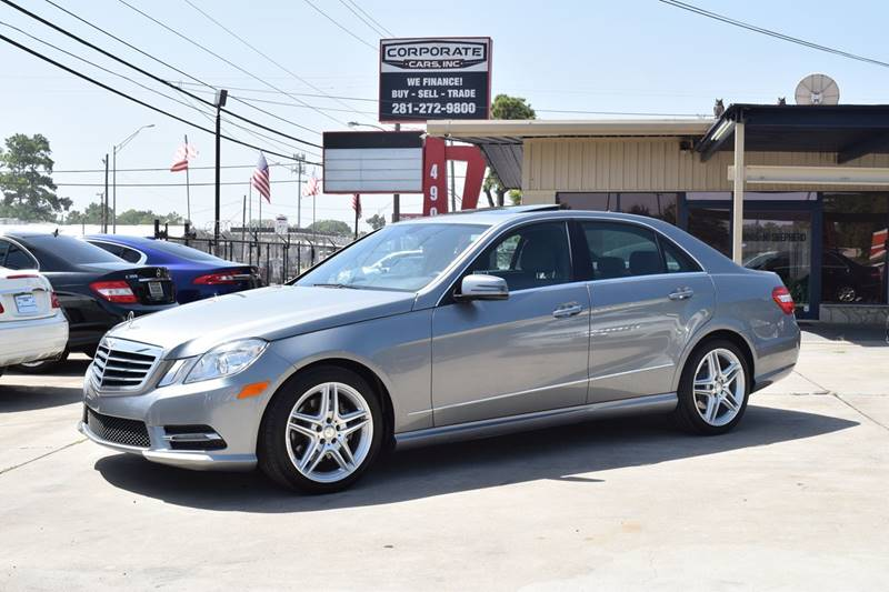 Amazing 2013 Mercedes Benz E Class E350 Sport 4dr Sedan   Houston TX