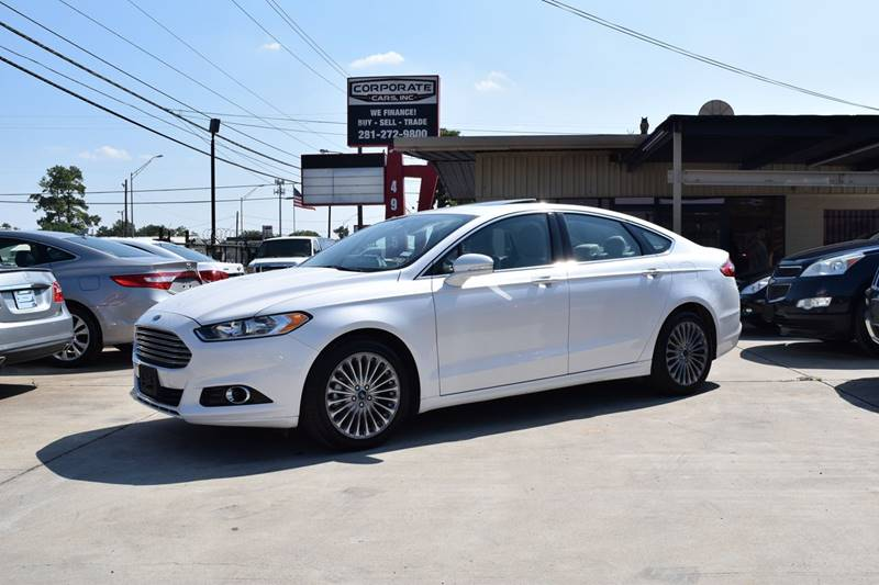 2015 ford fusion titanium for sale in houston tx cargurus. Black Bedroom Furniture Sets. Home Design Ideas