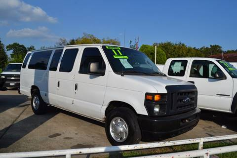 2011 Ford E-350 for sale in Houston, TX