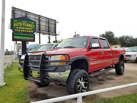 2002 GMC Sierra 2500HD for sale in Houston, TX
