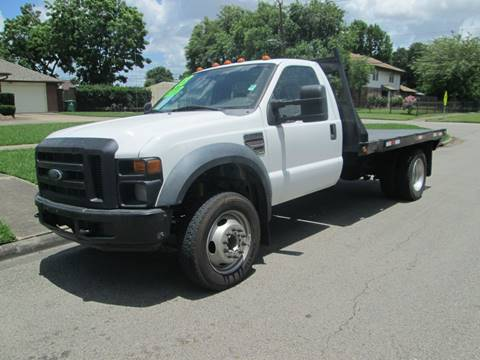 2008 Ford F-550 Super Duty for sale in Houston, TX