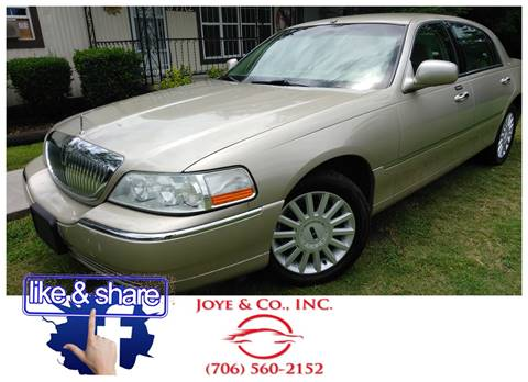 2005 Lincoln Town Car for sale in Augusta, GA