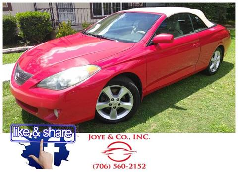 2005 Toyota Camry Solara for sale in Augusta, GA