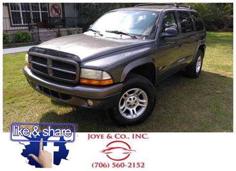 2002 Dodge Durango for sale in Augusta, GA