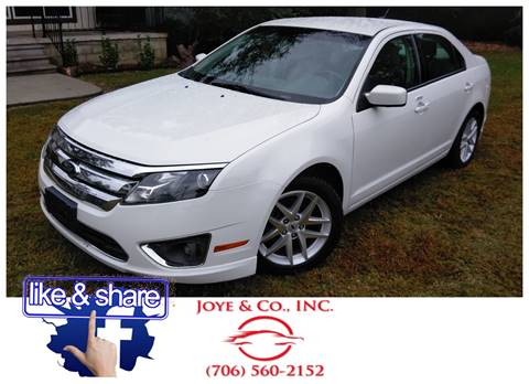 2012 Ford Fusion for sale in Augusta, GA