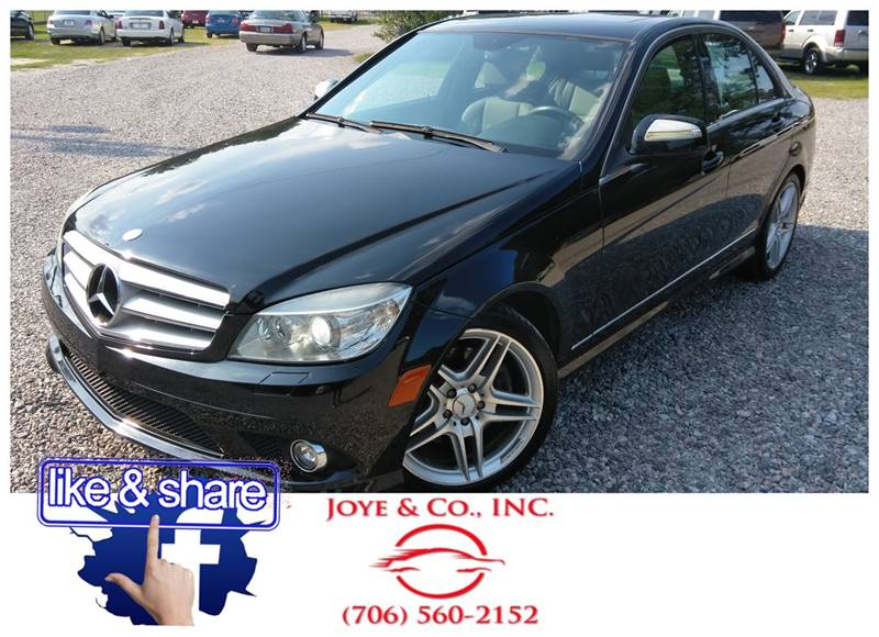 2008 Mercedes Benz C Class For Sale At Joye U0026 Company Auto Sales In