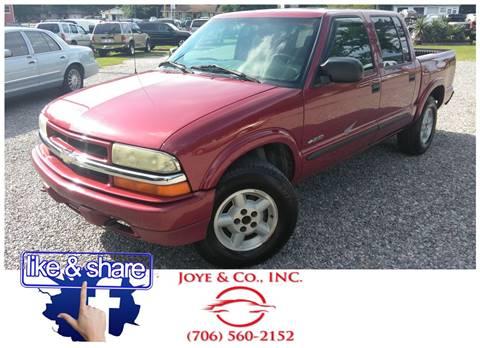 2003 Chevrolet S-10 for sale at Joye & Company INC, in Augusta GA