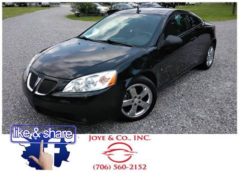 2008 Pontiac G6 for sale in Augusta, GA