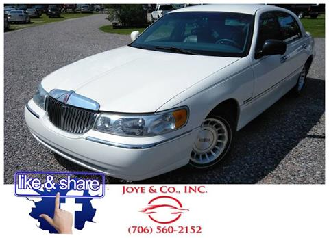 1999 Lincoln Town Car For Sale In Federal Way Wa Carsforsale Com