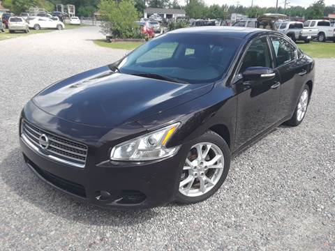 2010 Nissan Maxima for sale at Joye & Company INC, in Augusta GA