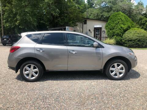 2010 Nissan Murano for sale at Joye & Company INC, in Augusta GA