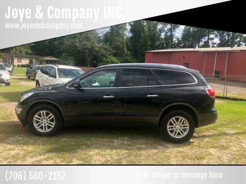 2012 Buick Enclave for sale at Joye & Company INC, in Augusta GA