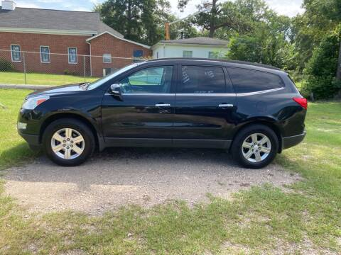 2012 Chevrolet Traverse for sale at Joye & Company INC, in Augusta GA