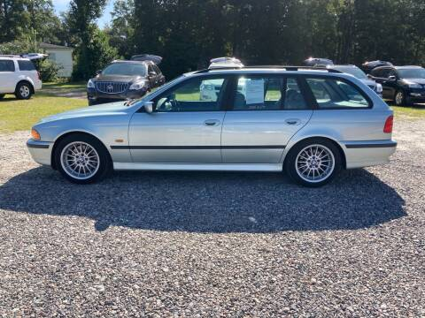 1999 BMW 5 Series for sale at Joye & Company INC, in Augusta GA