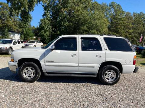 2002 Chevrolet Tahoe for sale at Joye & Company INC, in Augusta GA