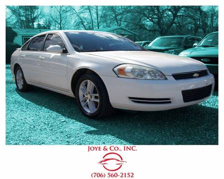 2007 Chevrolet Impala for sale in Augusta, GA
