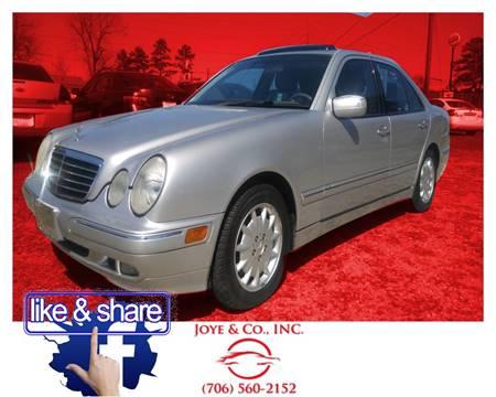 2001 Mercedes-Benz E-Class for sale in Augusta, GA