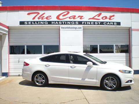 2015 Ford Fusion Hybrid for sale in Hastings, NE