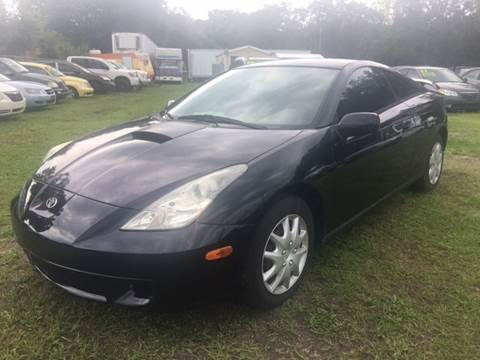 2001 Toyota Celica for sale in Dover, FL