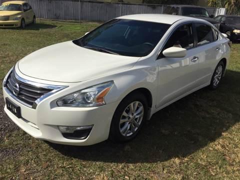 2014 Nissan Altima for sale at MISSION AUTOMOTIVE ENTERPRISES in Plant City FL