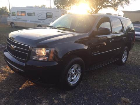 2007 Chevrolet Tahoe for sale at MISSION AUTOMOTIVE ENTERPRISES in Plant City FL