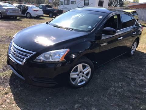 2014 Nissan Sentra for sale at MISSION AUTOMOTIVE ENTERPRISES in Plant City FL
