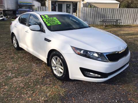 2012 Kia Optima for sale at MISSION AUTOMOTIVE ENTERPRISES in Plant City FL
