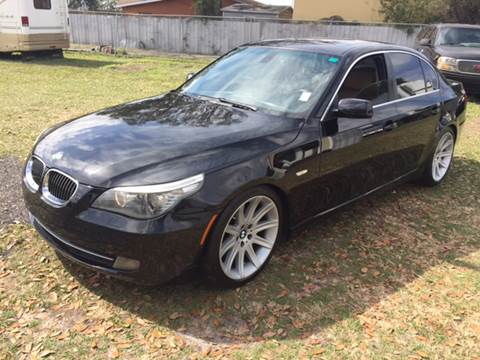 2008 BMW 5 Series for sale at MISSION AUTOMOTIVE ENTERPRISES in Plant City FL