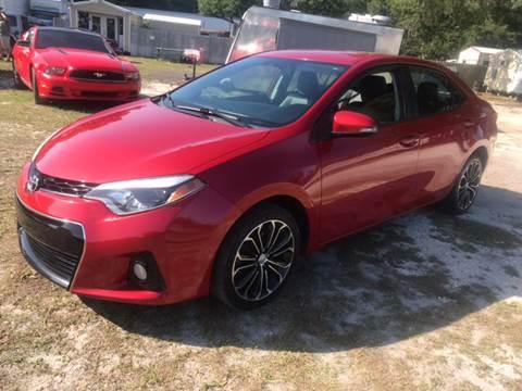 2014 Toyota Corolla for sale at MISSION AUTOMOTIVE ENTERPRISES in Plant City FL
