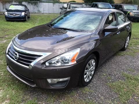 2013 Nissan Altima for sale at MISSION AUTOMOTIVE ENTERPRISES in Plant City FL