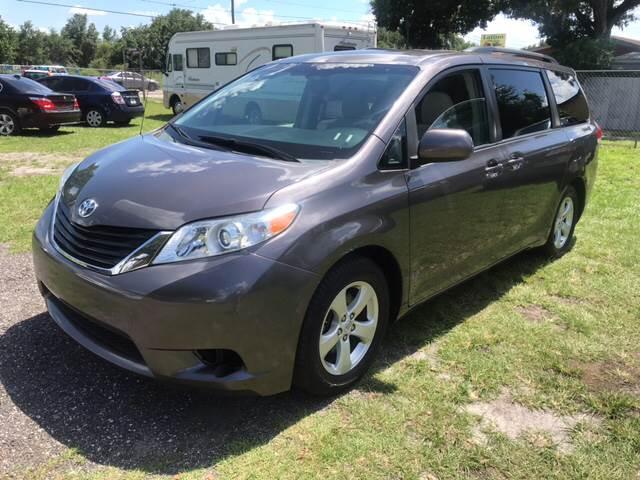 2013 Toyota Sienna for sale at MISSION AUTOMOTIVE ENTERPRISES in Plant City FL