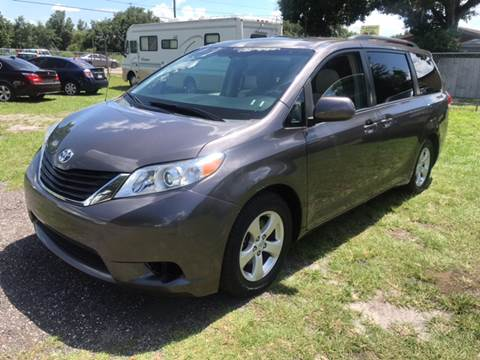 2013 Toyota Sienna for sale at MISSION AUTOMOTIVE ENTERPRISES in Plant City FL