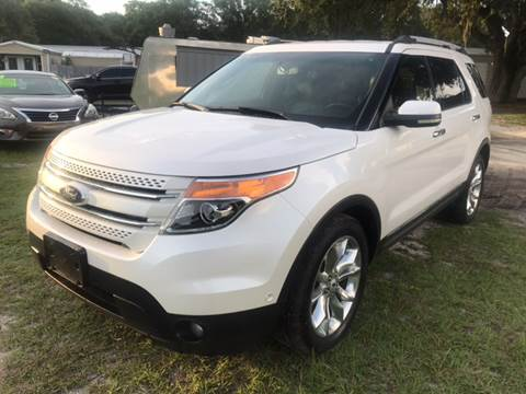 2012 Ford Explorer for sale at MISSION AUTOMOTIVE ENTERPRISES in Plant City FL