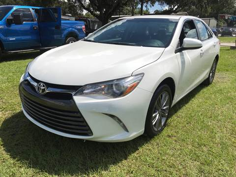 2016 Toyota Camry for sale at MISSION AUTOMOTIVE ENTERPRISES in Plant City FL