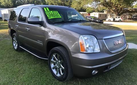 2011 GMC Yukon for sale in Dover, FL