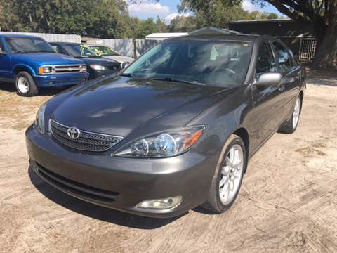2003 Toyota Camry for sale at MISSION AUTOMOTIVE ENTERPRISES in Plant City FL