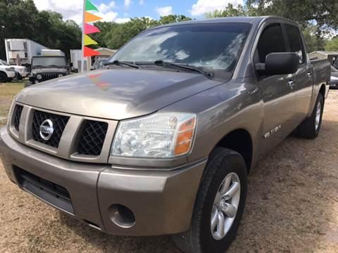 2007 Nissan Titan for sale at MISSION AUTOMOTIVE ENTERPRISES in Plant City FL