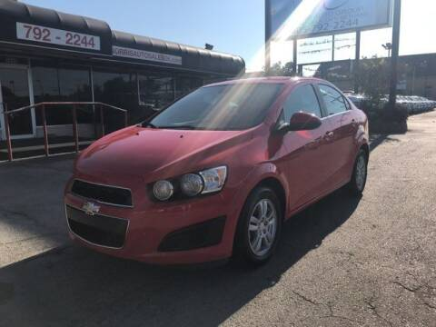 2014 Chevrolet Sonic for sale at NORRIS AUTO SALES in Oklahoma City OK