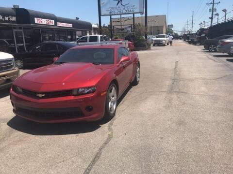 2015 Chevrolet Camaro for sale at NORRIS AUTO SALES in Oklahoma City OK