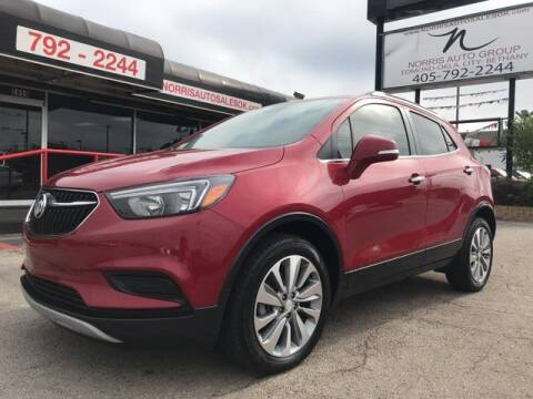 2018 Buick Encore for sale at NORRIS AUTO SALES in Oklahoma City OK