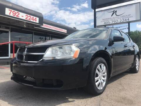 2010 Dodge Avenger for sale at NORRIS AUTO SALES in Oklahoma City OK