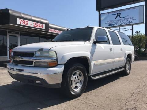 2004 Chevrolet Suburban for sale at NORRIS AUTO SALES in Oklahoma City OK