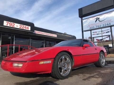 1986 Chevrolet Corvette for sale at NORRIS AUTO SALES in Oklahoma City OK