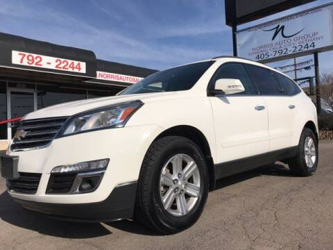 2013 Chevrolet Traverse for sale at NORRIS AUTO SALES in Oklahoma City OK