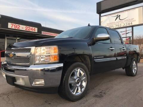 2013 Chevrolet Silverado 1500 for sale at NORRIS AUTO SALES in Oklahoma City OK