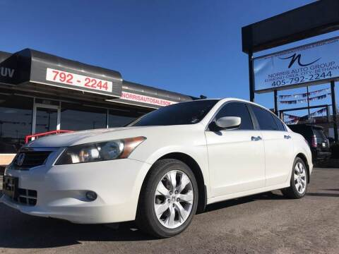 2010 Honda Accord for sale at NORRIS AUTO SALES in Oklahoma City OK
