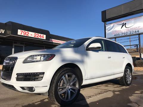 2014 Audi Q7 for sale at NORRIS AUTO SALES in Oklahoma City OK