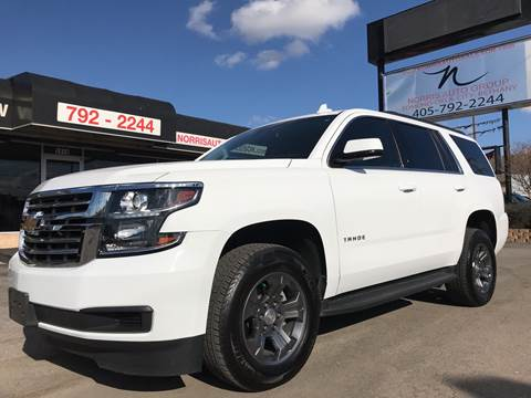 2018 Chevrolet Tahoe for sale at NORRIS AUTO SALES in Oklahoma City OK