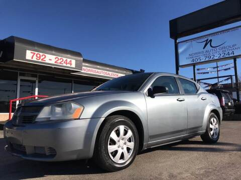 2008 Dodge Avenger for sale at NORRIS AUTO SALES in Oklahoma City OK
